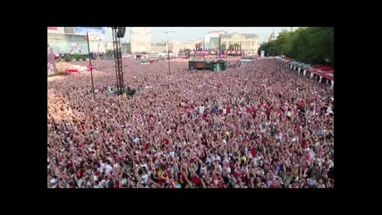 08.06.12 100 000 души приветстваха гола на Левандовски срещу Гърция