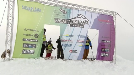 ENGADINSNOW 2014 Ski and Snowboard Freeride