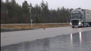 Ето как действат спирачките на Volvo Fh