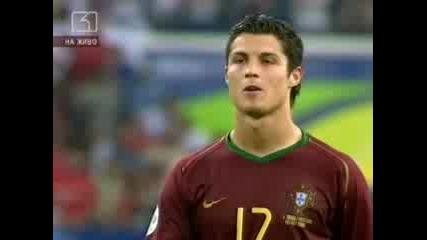Четвъртфинал На Мондиал 2006 - Португалия - Англия