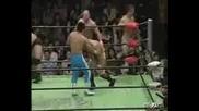 NOAH Yoshinobu Kanemaru, Davey Richards, Atsushi Aoki & Genba Hirayanagi vs. KENTA, Taiji Ishimori, Kotaro Suzuki & Ricky Marvin