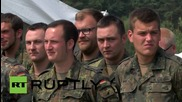 Germany: Army assist Brandenburg to accommodate refugees