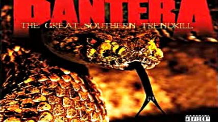 Pantera - The Great Southern Trendkill (full Album) (1996)