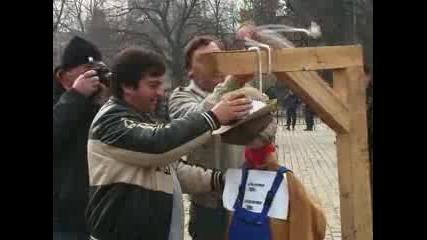Зърнопроизводители протестират в центъра на София