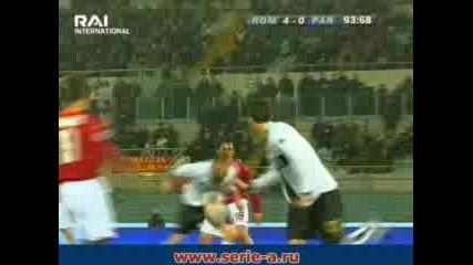 01.03 Рома - Парма 4:0  Мирко Вучинич Гол