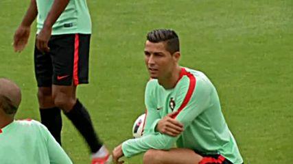 Португалците очакват повече от Кристиано Роналдо