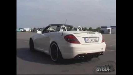 Mercedes Със Мощен Двигател И Супер Тунинг
