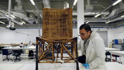 Стол за 3300 години | Изгубените съкровища на Египет | National Geographic Bulgaria