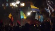 Ukraine: Medvedchuk's office comes under attack on Maidan anniversary