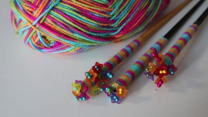 Декоративни клечки за коса