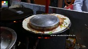 Бърза Храна на улицата .. Making Mysore Masala Dosa - Mumbai Street Food