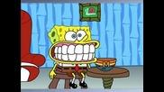 Врабчетата & Spongebob - Бански на лалета
