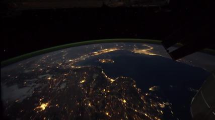 Изумителна гледка! - Земята през нощта