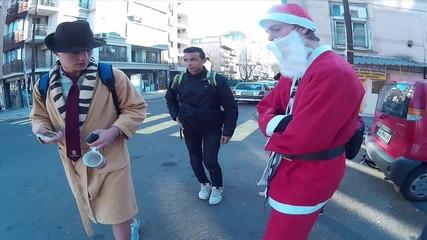 Бургаски Дядо Коледа И Снежанка На Обиколка