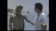 Anahi Y Poncho Filmando En Cancun