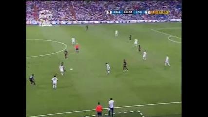 Втората победа на Реал Мадрид и Първи гол за Роналдо Срещу Лду Кито с 4 - 2
