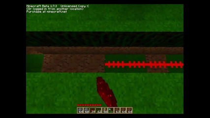 minecraft как да си направим врата от пистън урок еп 1