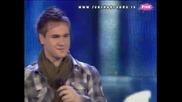 Nemanja Vlahović - Prvi poljubac (Zvezde Granda 2010_2011 - Emisija 13 - 25.12.2010)