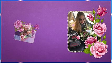 Рисованное видео Доченьке на день рождения