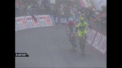 Сантамброджио спечели 14-ия етап в Джирото, Нибали увеличи аванса си