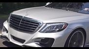 Немски звяр • Mercedes S550 Lorinser с 22 '' джанти Lexani