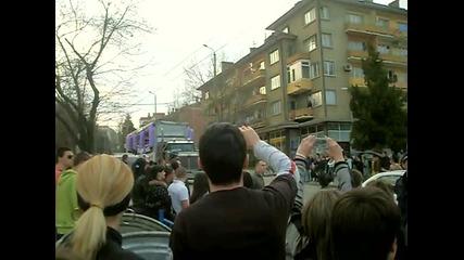 Street Parade Veliko Tarnovo 2010 - Posreshtane na kamiona