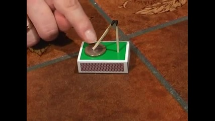 Amazing Trick with Matches and a Coin