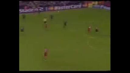 Thierry Henry And Gerrard Vs Ronaldinho and Zidane