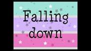 Selena Gomez - Falling Down с текст