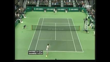 Григор Димитров е на полуфинал в Ротердам след 2:1 сета над Багдатис