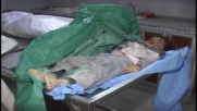 Syria: Injured taken to hospital following deadly militant attack in Aleppo *GRAPHIC*