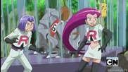 Покемон X и Y епизод 7-надпреварата на Райхорн
