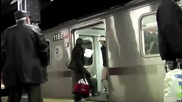Blow - Up Let Me See Your Underwear ( Nyc Subway Expirience Uncensured )