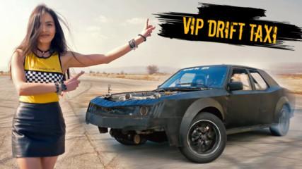 АДРЕНАЛИН, бясна скорост, ЗВЕЗДИ! Очаквайте VIP Drift Taxi от 19 март във Vbox7!