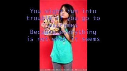 Selena Gomez - Everything Is Not What It Seems lyrics