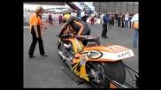 Top fuel bikes at Veidec Nitro Festival 2010