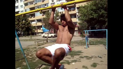 Street Fitnes Training - улична фитнес тренировка