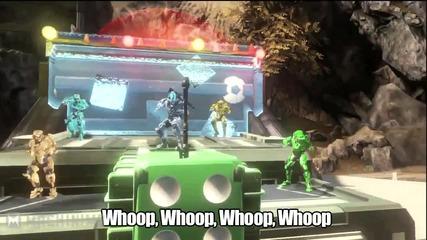 Halo 4 _spartan Style_ Gangnam Style Parody
