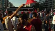 Turkey: Celebrations in Ankara after military coup fails