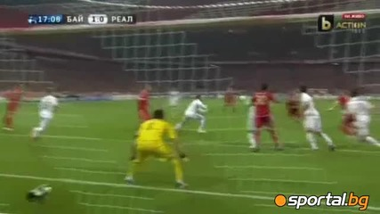 Байерн (мюнхен) - Реал Мадрид (2:1)