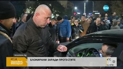Премиерът се среща с двама министри заради протеста на МВР - обобщение на протеста