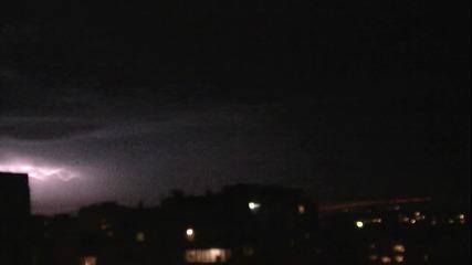 Варна - 09.03.13 Светкавици югоизточно от града