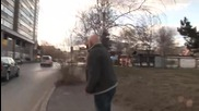 Луд кара с маркуча от бензиностанцията 100% смях