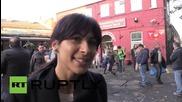 UK: Kurdish protesters block London streets in Kobane solidarity demo