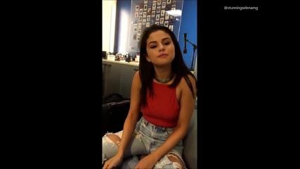 Селена отговаря на въпроси зададени от фенове.