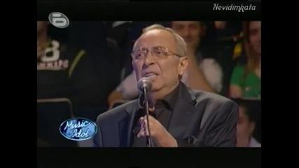 Music Idol 3 - Поклон Маестро! * Моменти С Вили Казасян*01.03.09