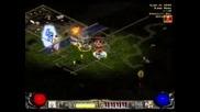 Diablo 2 - Ww Barb Vs Bone Necro