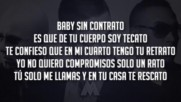 Sin Contrato - Maluma Ft. Don Omar Wisin Remix_letra 2016