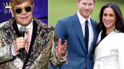 Защо Мегън и Хари избраха Сър Елтън Джон да свири на сватбата им?