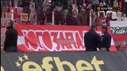 Немски журналисти отразяват ултрасите на Цска
